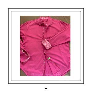 Robert Graham L/S Button Up Shirt XL - Raspberry